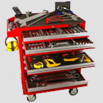 Tools Trolley, Tool Chest, Mechanics Trolley